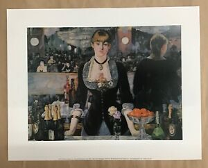 Manet 'A bar at the follies-bergere' - art print, french