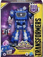 Transformers: Bumblebee Cyberverse Adventures Deluxe Soundwave brand new ozz toy