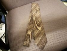 Emilio Vincenti Polyester Brown Tie