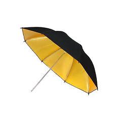 Paraguas de Estudio Fotografico Video DynaSun UR02 Dorado/Negro 109cm para Flash