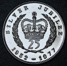 1952-1977 CANADA COMMEMORATIVE SILVER JUBILEE MEDALLION - Elizabeth II - Nice