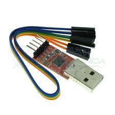 USB A TTL UART Modulo STC Adattatore Convertitore Seriale CP2102 5pin con Cavo