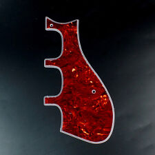 Custom Guitar Pickguard for Harmony H75 H78 Silvertone 1454 airline 7230 Red-Tor