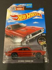 Hot Wheels 69 Dodge Charger 500 Night Burnerz 4/10 Red Diecast 1:64 Scale New Fs