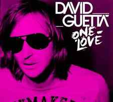 DAVID GUETTA One Love Limited Edition 2CD NEW w/ One Love Mix & Bonus Tracks