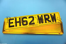 Metal Oblong Number Plate Holder for Trailer, Horse Box, Tractor, Lorry