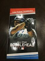 New in Box: Ivan Pudge Rodriguez Bobblehead Sga 7/9/17 Miami Marlins Rangers