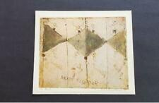 Anton Heyboer Composition with Three Angles and Figures Mounted  Lithograph 1973