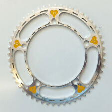 Derosa pantographed chainring NEW 144bcd Pantografata early  70s 53th