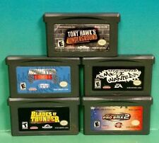Need Speed Most Wanted Tony Hawk Monster Truck Thunder Nintendo Game Boy Advance
