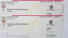 2 x Eckart von Hirschhausen 11.05.2021 München - direkt an der Bühne