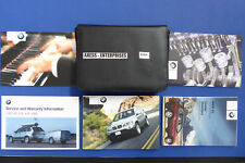 2003 BMW E53 X5 3.0i 4.4i 4.6is Owner Manuals Operator Books Pouch Package R161
