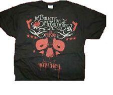 """Bullet For My Valentine « veneno Calavera Negra T Shirt Talla Xl = 46 """"en el pecho"""