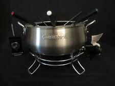 Cuisinart CFO-3SS Electric Fondue Set Brushed Stainless, 3-Quart 8 Temp Settings