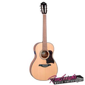 Gilman GPA10E 00 Parlour Spruce Top Acoustic Electric Guitar