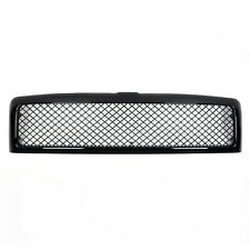 Glossy Black Front Hood Grille Grill Mesh For 94-01 Dodge Ram 1500 2500 3500