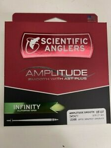 SCIENTIFIC ANGLERS Amplitude Smooth Infinity Freshwater Fly Line WF-5-F $99.95