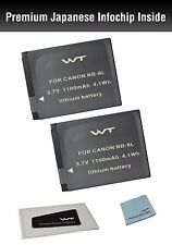 WT-NB8LK2 WT Battery(2pack) for Canon Canon NB-8L,CB-2LA,PowerShot A2200,A3000IS