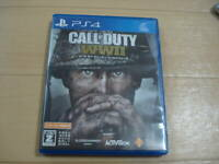 Call of Duty World War Ⅱ PS4 Sony Used Japan Adventure Boxed Tested Working