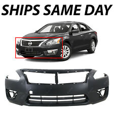 NEW Primered - Front Bumper Cover Fascia for 2013 2014 2015 Nissan Altima Sedan