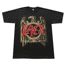 Slayer  Metal  Band Graphic T-Shirts Eagle