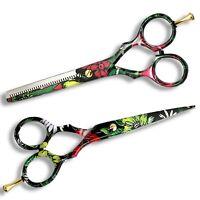 Professional Hairdressing Thinning Scissors Set Barber Salon Hair Cutting Shears