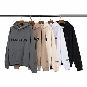 Mens Womens FEAR GOD ESSENTIALS Hoodie Couple Sweater FOG High Street Jacket UK