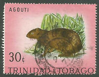 Trinidad and Tobago Scott# 199, Agouti, Used, 1971