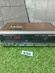 Vintage Waltham Radio Alarm Clock