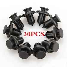 30pcs Fastener Push Type Fender Retainer Bumper Clip For Honda Accord Civic CR-V