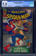 Amazing Spider-Man #42 CGC 7.5 Off W/White Pages  #2101679003.
