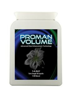 Proman volume: increase sperm volume by 500% - male fertility