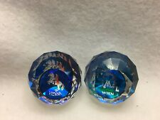 Swarovski Paperweights - 2 Pcs from Europe - Rare