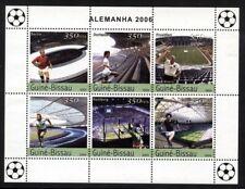 Guinea Bissau 2004 German Football S/S set NH