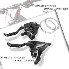 Set EF500-7 3x7 Speeds Brake Levers & Shifters Levers for SHIMANO Bike Black