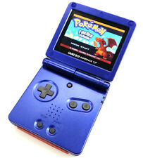 Blue Nintendo Game Boy Advance SP Console AGS-101 Highlight LCD GBA SP SYSTEM