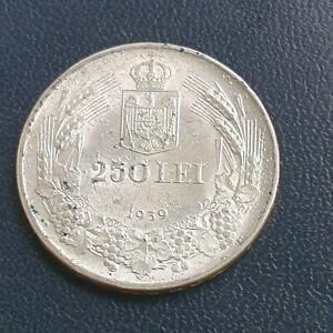 250 lei 1939 Romania very nice grade