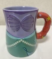 Tokyo Disney Resort The Little Mermaid Ariel Mug Cup Coffee Tea Pottery NEW