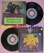 LP 45 7'' NAZARETH Shanghai'd in Cat's eye apple pie 1974 germany no cd mc dvd