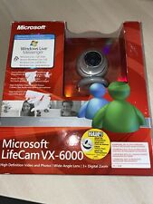 Microsoft LifeCam VX-6000 1.3MP USB Webcam With Built In Microphone