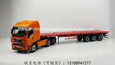Iveco Hongyan Jerry lionflat-bed truck alloy model 1:24