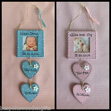 Newborn Baby Boy/Girl Personalised Photo Frame Nursery/Cot Decor Gift Present