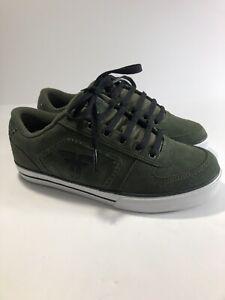Men's Fallen Josh Harmony Skate Shoes Sz 7.5 Green New Without Box