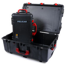 Combo Package - Black & Red Pelican 1650 no foam and Pelican 1510 No foam.
