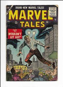 MARVEL TALES #142 ==> VG VANISHING BOY MARVEL COMICS 1956
