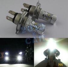 2x WHITE 6000K CREE H4 HB2 9003 LED BULB 30W LENS Bulb lamp DRL HEAD LIGHT 12V Z