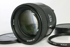 Excellent NIKON AF NIKKOR 85mm F1.8D Lens from Japan