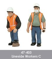 Scenecraft 47-403 Lineside Workers Figures Pack C (2PK) O Gauge