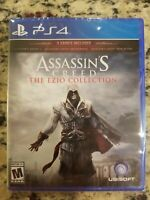 Assassin's Creed: The Ezio Collection (Playstation 4 PS4, 2016) - NEW FREE S/H