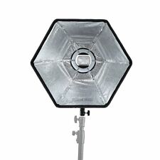 Selens Photography Flash Soft Box 50cm Hexagon Softbox with L-Shape Adapter Ring